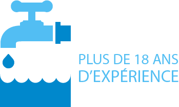 18 ans d'expérience dans la recherche de fuite à Nantes